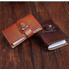 woman Genuine Leather Bifold Credit Card Cash ID Case Holder Wallet Purse slots