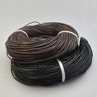 Genuine Leather Cord Thread 1M 10M 100M For Bracelet Necklace DIY Jewelry Making