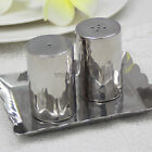 Thai Handmade Salt And Pepper Shakers Set Stainless Steel 18/8 Hammered