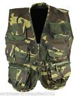 KIDS ARMY VEST RIPSTOP WAISTCOAT BOYS 3-13 CHILDRENS DRESS UP FANCY DRESS DPM