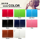 Genuine Real Cowhide Leather Smart Flip Stand Case Cover Skin For Apple iPad Air