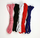 5 m Corset Cord Lacing Black Corselet Rope Drawstring Sewing Trims