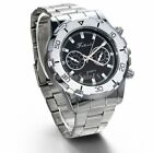 Hot Luxury Men's Stainless Steel Band Business Sport Analog Quartz Wrist Watch