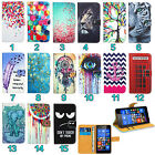 Huawei Mobile Phone Leather Wallet Kickstand Bag Case Cover