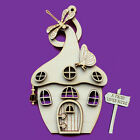 Fairy Door 3D Wooden Curly Magic House Elf Shapes Pixie Plywood FH1