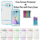 Stylish Lines Soft Silicone Gel Back Tpu Case Cover For Samsung Galaxy S7 Edge