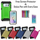 Heavy Duty ShockProof Hard Silicone Rugged Case Cover For Samsung Galaxy S7 Edge