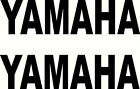 Used, 2 YAMAHA Vinyl Decal Decals Sticker Stickers Motorcycle Dirt Bike Badge Emblem for sale  Milton