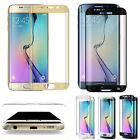 Samsung Galaxy S7 Edge Full Cover Curved Tempered Glass Screen Protector & Case