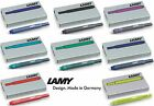 Lamy Fountain Pen T10 Ink Cartridges - 8 Colours Available