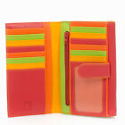 Mywalit Leather Tabbed Flap Over Wallet Purse 1204