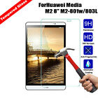"""Tempered Glass 9H Screen Protector for 8.0"""" Huawei MediaPad M2 8.0 M2-801w/803L"""