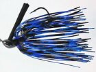 Power Pro Skirted DC Arky Jig Black & Blue LI126 Choice of Brand Hook