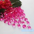 10mm 4CT Fuchsia Acrylic Diamond Confetti Wedding Party Crystals Table Scatters
