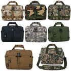 Military Combat Army Portable Handbag Shoulder Notebook Bag Leisure Briefcase
