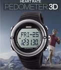 RELOJ PODOMETRO PULSOMETRO SKMEI Watch Pedometer Heart Rate Monitor Calories 3D