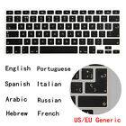 For Macbook Air Pro Foreign Language Universal US EU Generic Keyboard Cover Skin