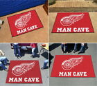 Detroit Red Wings Man Cave Area Rug Choose from 4 Sizes