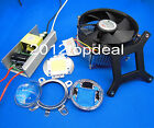 100W 100Watt High Power White LED Light +Heatsink Cooler+100W LED Driver 85-265v