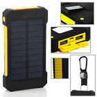 Dual Usb Solar Power Bank 300000mah Portable External Battery Charger For Phone