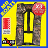 3 X AXIS INFLATABLE LIFEJACKET -CAMO- 150N PFD1 OFFSHORE Manual Jacket FREE POST