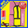 AXIS INFLATABLE LIFEJACKET - PINK - 150N PFD1 OFFSHORE Manual Jacket FREE POST