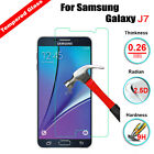Real 100% Tempered Glass Film Screen Protector for Samsung Galaxy J7 SM-J700F