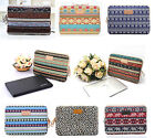 """10""""11""""12""""13""""14""""15""""17"""" Canvas Notebook Cover Case Laptop Sleeve For Macbook Dell"""