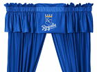 Kansas City Royals Curtains Drapes & Valance Set with Tie Backs