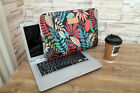 """8""""9""""10""""11""""12""""13""""14""""15""""15.4"""" Canvas Laptop Bag Flower PC Case Sleeve For HP Asus"""