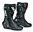 SIDI ST BLACK HINGED MOTORCYCLE SPORTS BIKE BOOTS SUITABLE FOR RACING