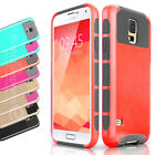 Two-Piece Shockproof Hard Protective Case Cover for Samsung Galaxy S5 Film I9600
