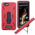 For BLU Vivo XL (V0030UU) Heavy Duty Defender Kickstand Case + Screen Protector