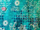 100% Cotton Christmas Fabric by Metre & Fat Quarters Festive Craft Sewing X96