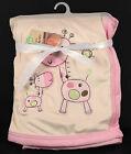 NEW Superior Quality Baby Hooded Plush Blanket Super soft Coral fleece Giraffe