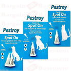 Bob Martin Pack Of  Flea &Tick Spot On Puppies Small & Large  Dog Cat & Kitten