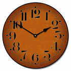 """Large wall Houston Spice Clock 10""""- 48"""" Whisper Quiet, Non-Ticking"""