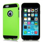 iPhone 5 5S SE 6 6S 7 7S Plus Hybrid Brushed Vivid Series Shockproof Case Cover