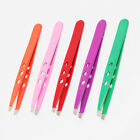 X-2 Slanted Stainless Steel Eyebrow Facial  Hair Removal Tweezers