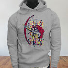 Worrier Heroic Tripi Armor Colors Super Women Bow & Arrow  Mens Gray Hoodie