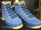 AIR JORDAN 9 RETRO CALVIN BAILEY 302370-445 SIZE 10 10.5 DEEP ROYAL