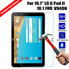 For LG G Pad 2 10.1 FHD V940N  9H Tempered Glass Guard Flim HD Screen Protector
