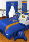 West Virginia Mountaineers Comforter & Pillowcase Twin Full Queen King Size