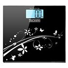 Triomph LCD 330lb Digital Bathroom Body Weight Scale  Black Blue White Gold
