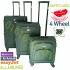 4 strong wheels 360 degree turn Luggage Trolley Travel Bags, Hand Cabin Luggage