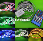 5M 5050 RGBW RGB+Cool / Warm white 60LED/M 120LED/M Strip Light 40Key controller