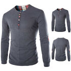 Hot Sale Patchwork Button Front Men's Shirt at Cheap Price, Men's Shirt