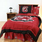 South Carolina Gamecocks Comforter Sham Throw Blanket Twin Full King Size CC