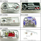 10 pcs  game controller floating charms for living memory glass floating locker