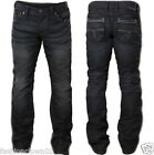 Affliction Men's GAGE SHIVA GREY 110SK005 Jeans